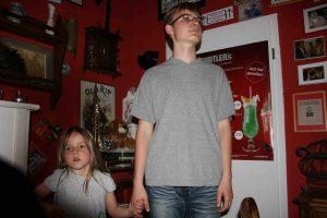 Luis mit Schwester